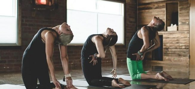 Yoga Poses Pure Hot Yoga Bayswater stretch