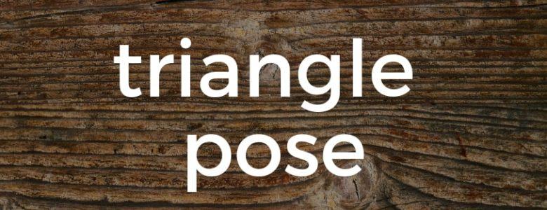Triangle Pose Pure Hot Yoga Bayswater Melbourne Yoga Classes