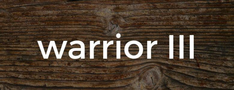 Warrior III pose Pure Hot Yoga Bayswater Melbourne Yoga Classes